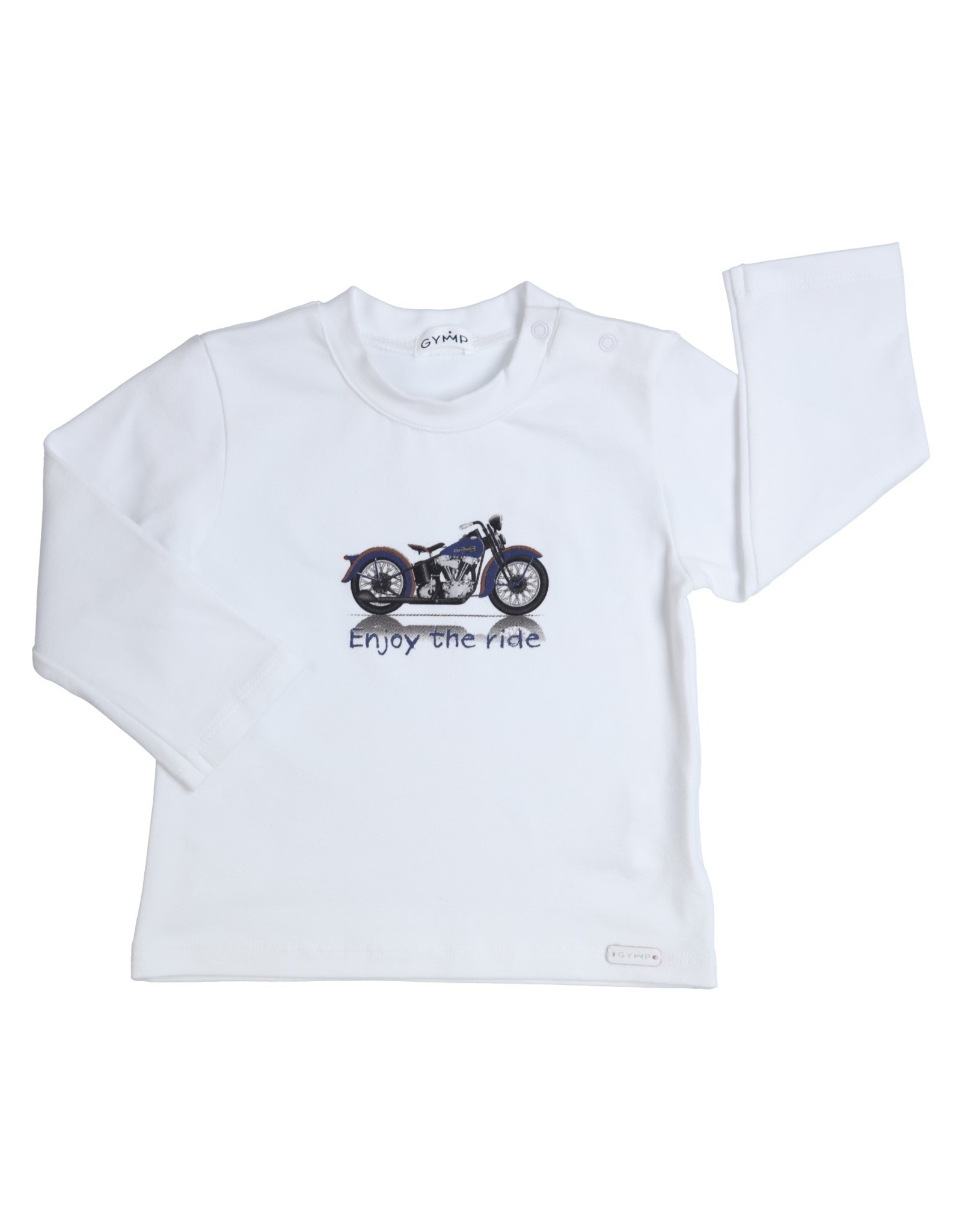 Gymp LONGSLEEVE - ENJOY THE RIDE,  WIT