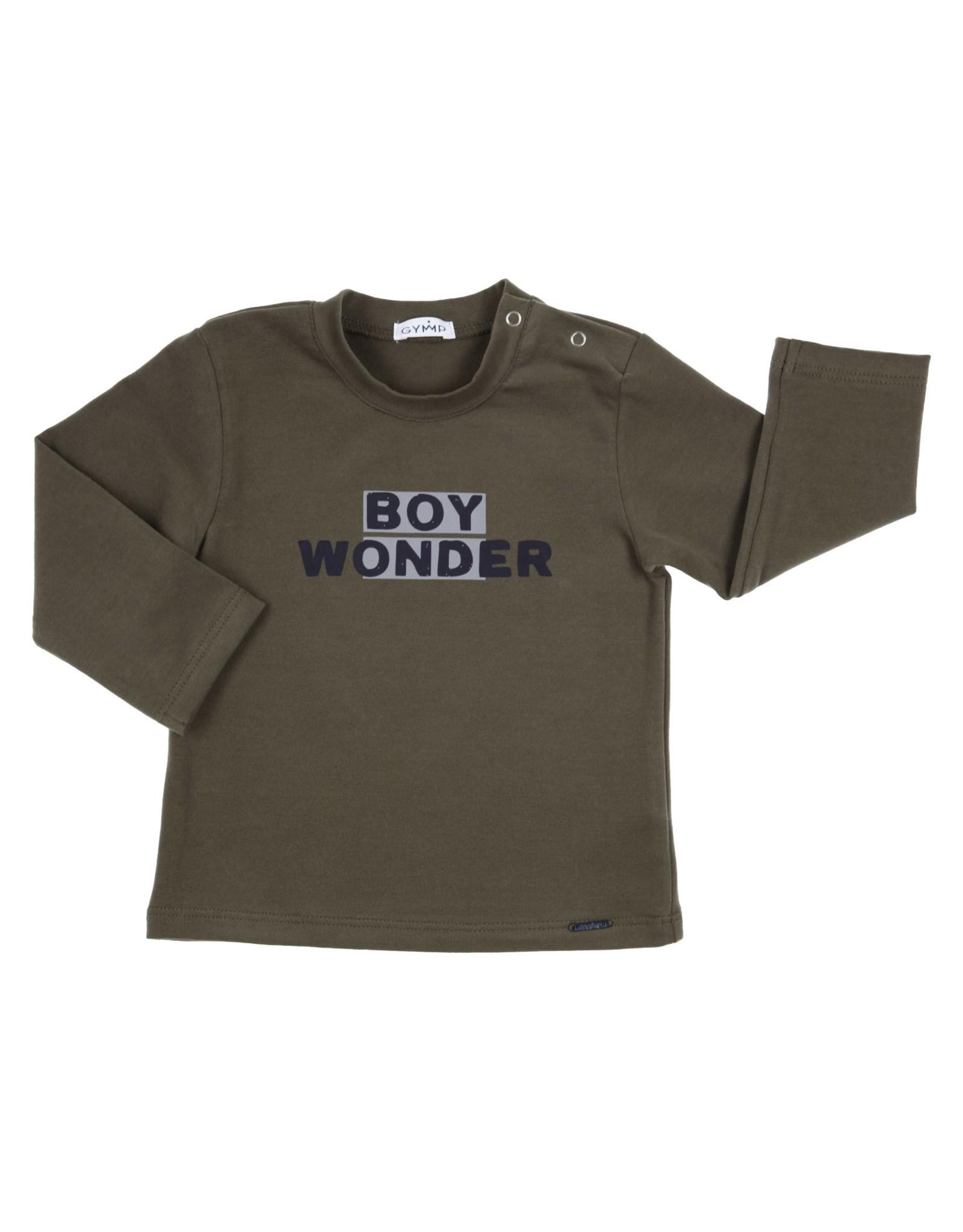 Gymp LONGSLEEVE - BOY WONDER,  KAKI