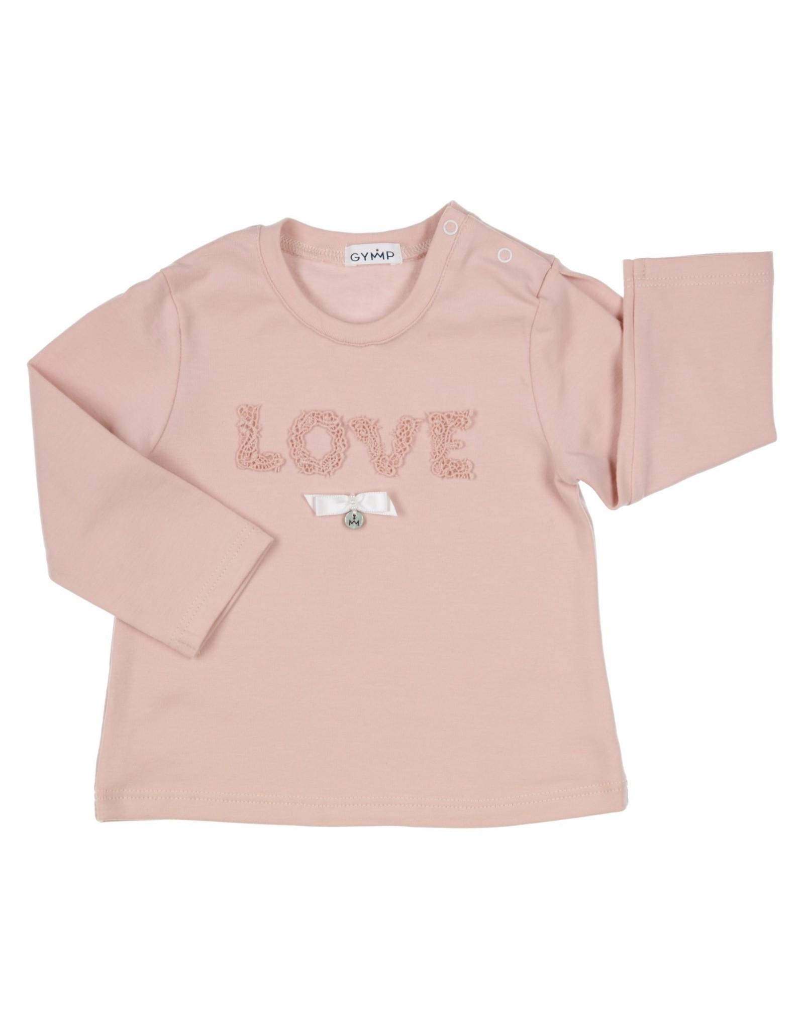 Gymp LONGSLEEVE - LACE LOVE,  VIEUX-ROSE