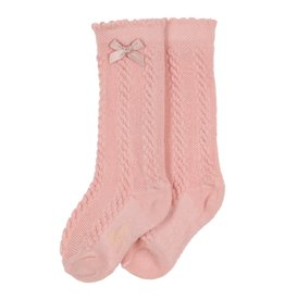 Gymp SOKKEN - girls knee socks,  VIEUX-ROSE