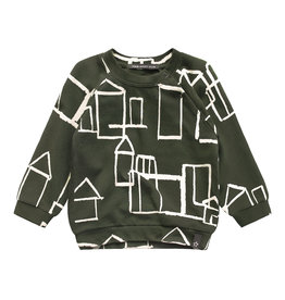 Your Wishes Crayon Town | Sweater, Desk Green