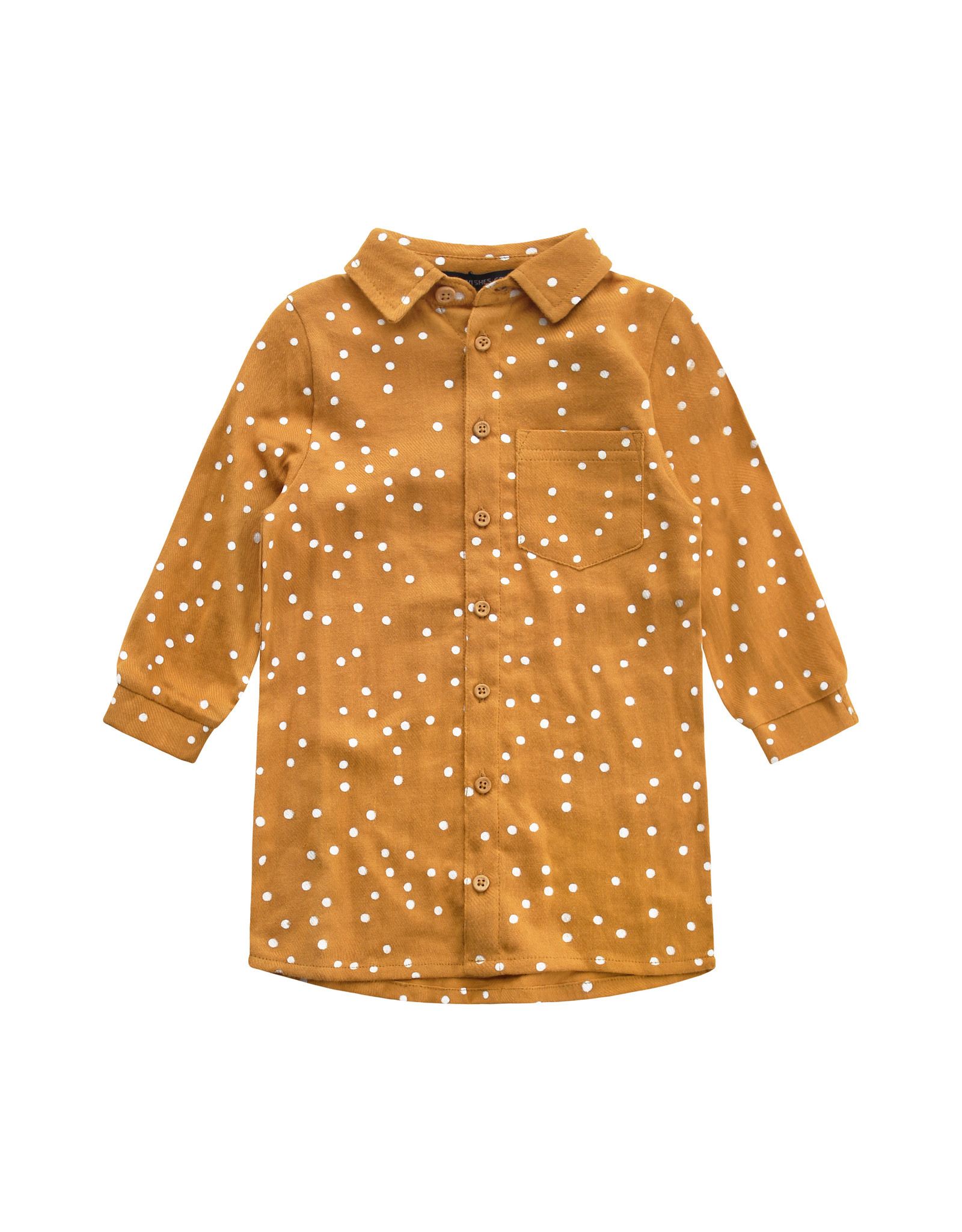 Your Wishes Confetti | Blouse Dress, Gold