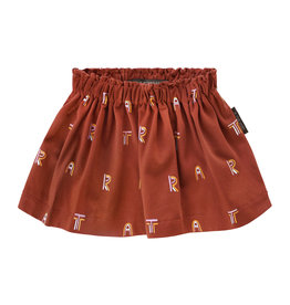 Your Wishes Art | Skirt, Rust