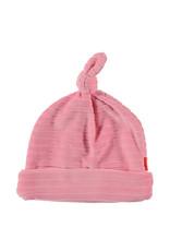 B.E.S.S. Hat Velvet Striped, Pink