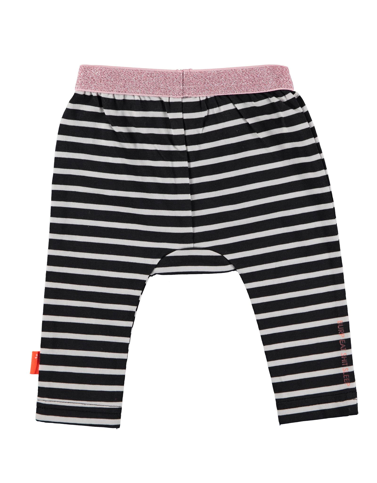 B.E.S.S. Legging Striped, Anthracite