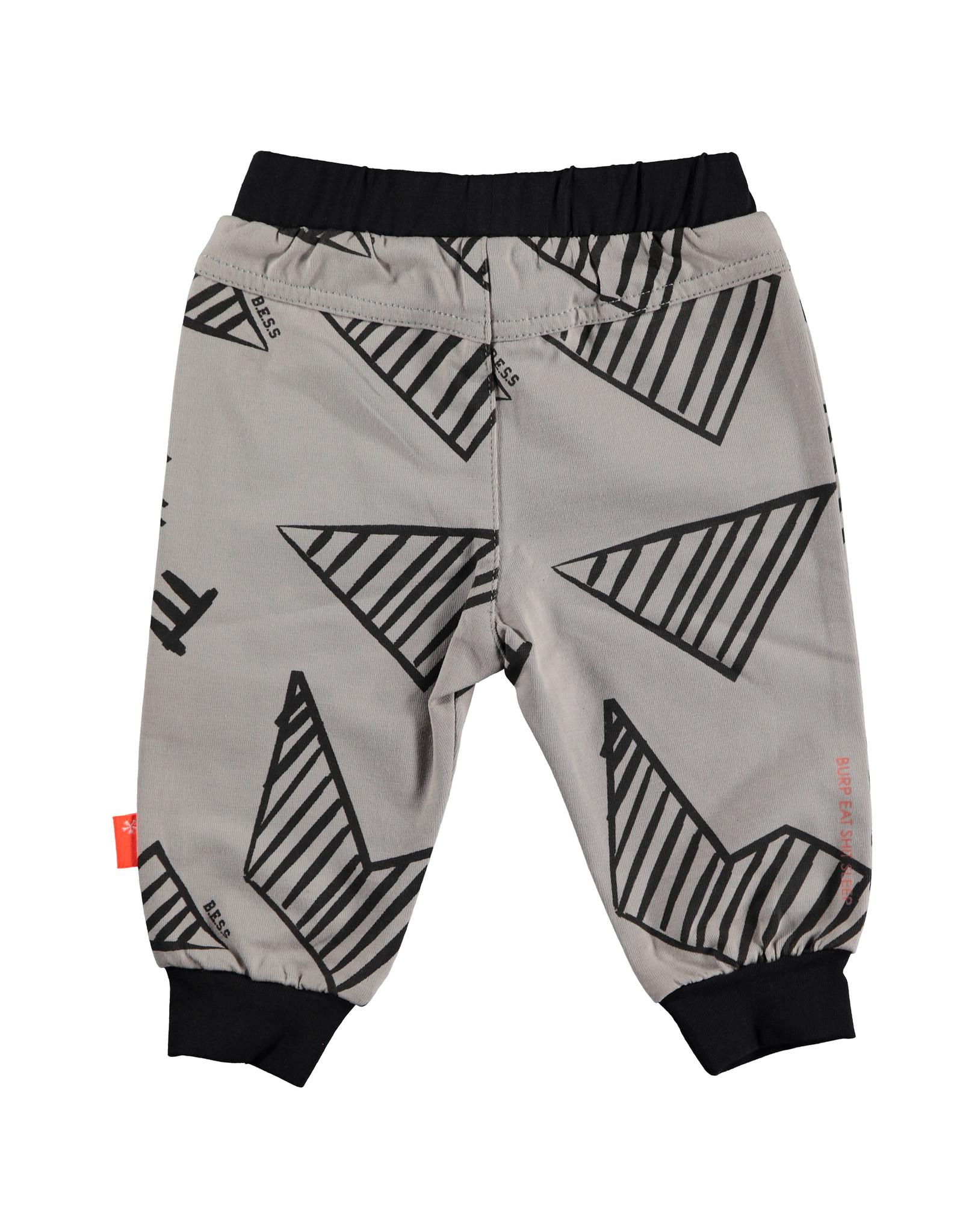 B.E.S.S. Pants Graphic, Grey