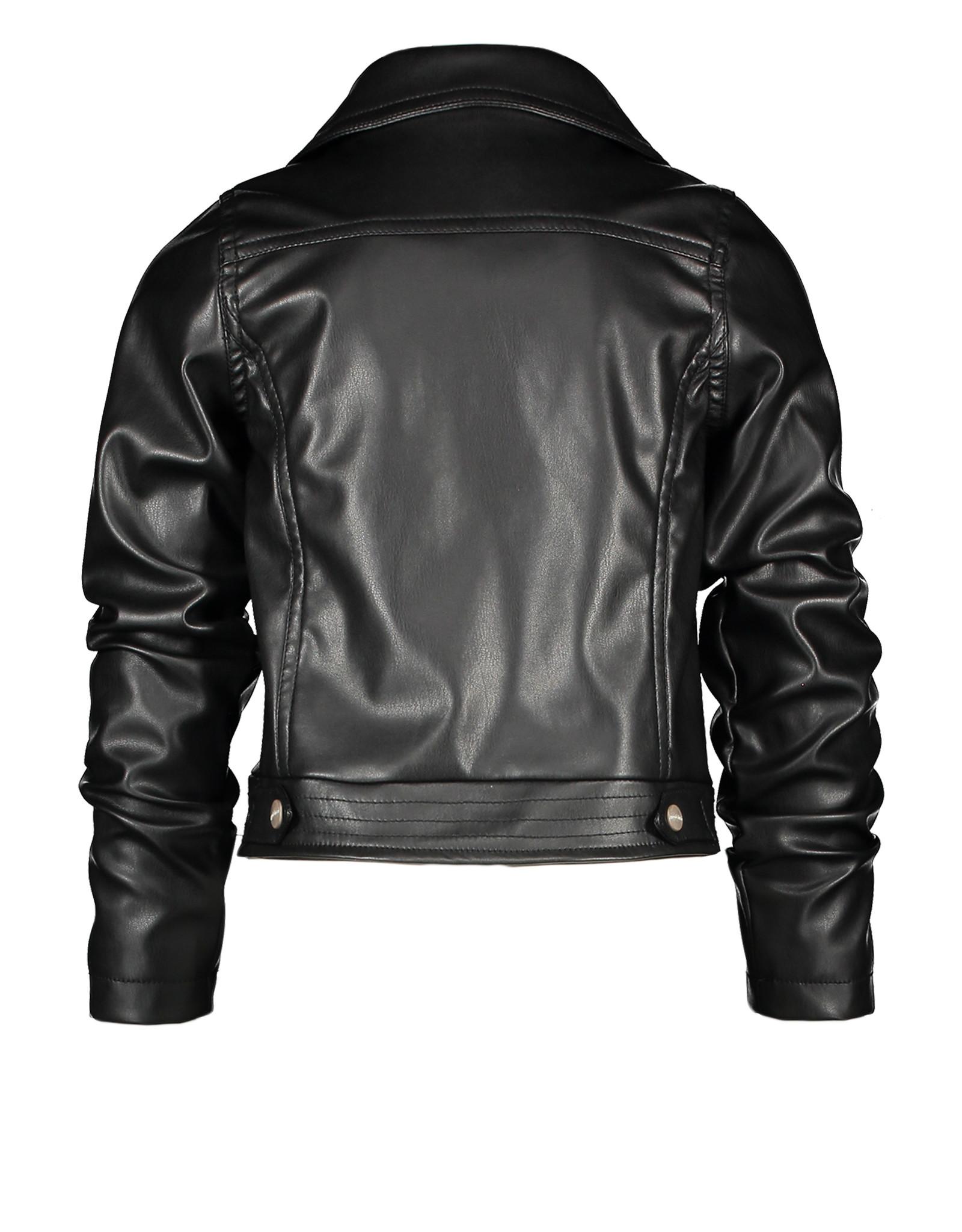 Moodstreet MT PU bikerjacket, Black