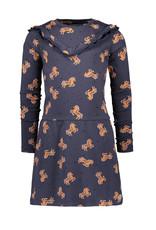 Moodstreet MT dress AOP, Navy