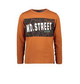 Moodstreet MT longsleeve, Rust