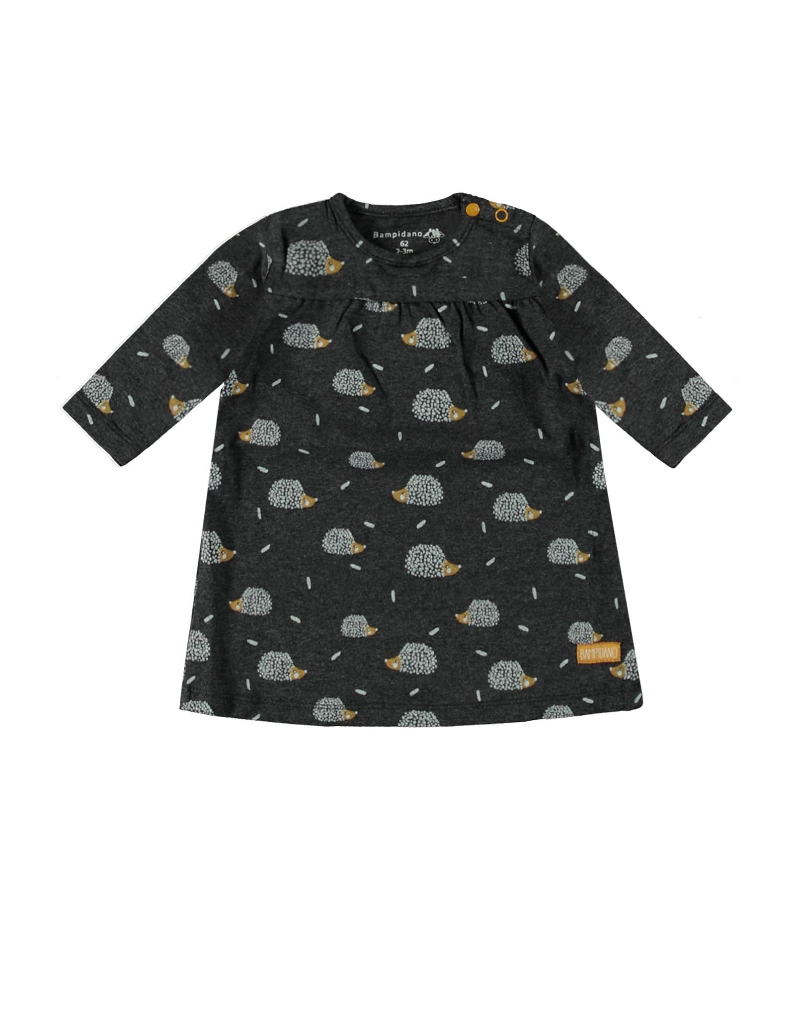 Bampidano Little Bampidano New Born dress Bente allover print FREE HUGS, anthra AOP
