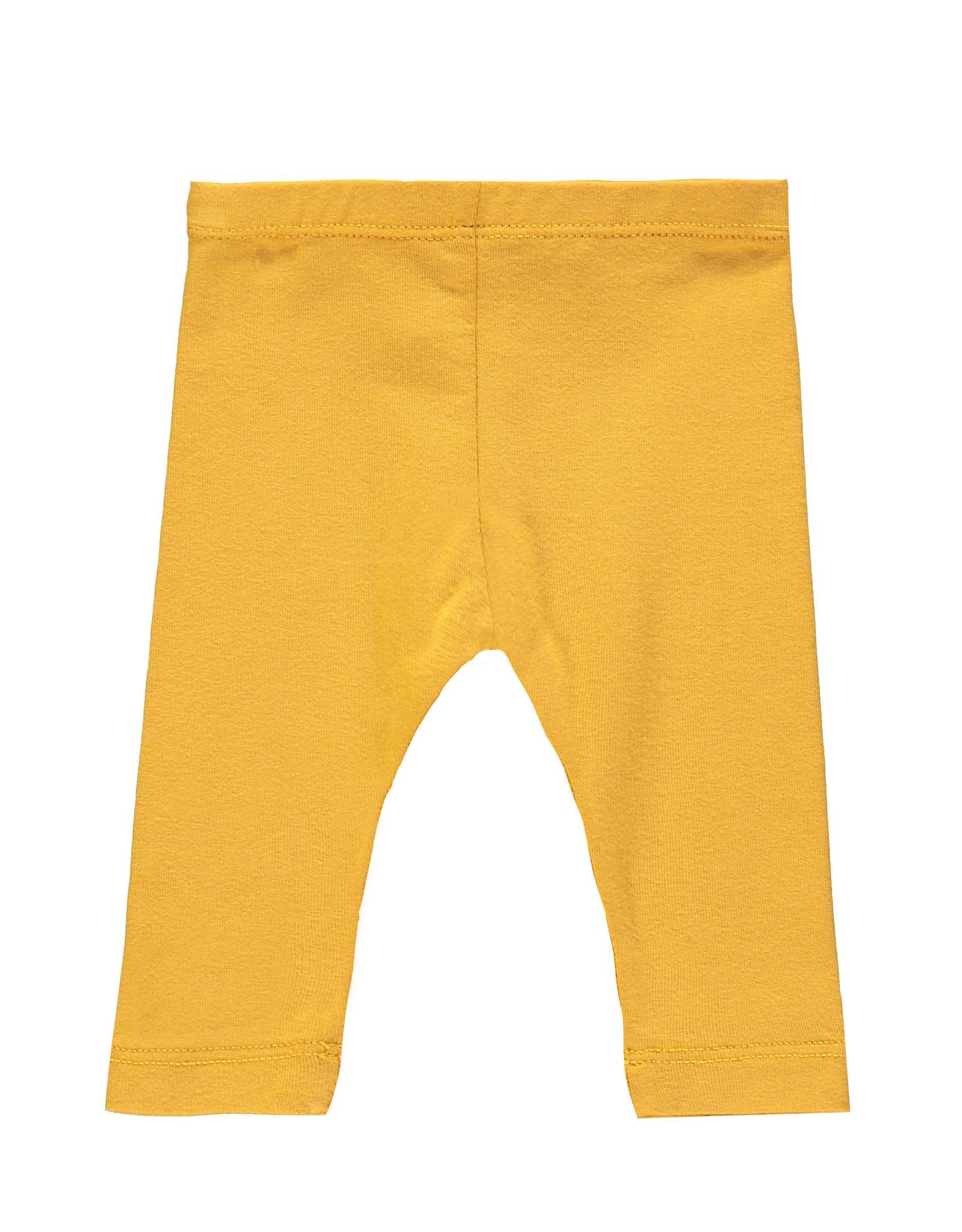 Bampidano Little Bampidano New Born legging Billie FREE HUGS, ocre yellow