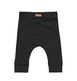 Bampidano Little Bampidano New Born fitted trousers Baily plain/allover print FREE HUGS, anthra melee