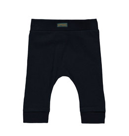 Bampidano Little Bampidano New Born fitted trousers Ayden plain/yd stripe CLOUDS, navy