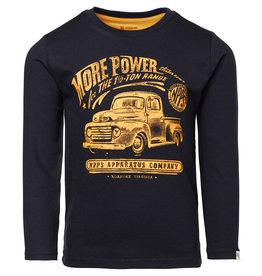 Noppies B Regular T-shirt ls Monsey, Dark Sapphire