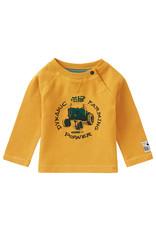 Noppies B T-Shirt LS Seymour, Chinese Yellow