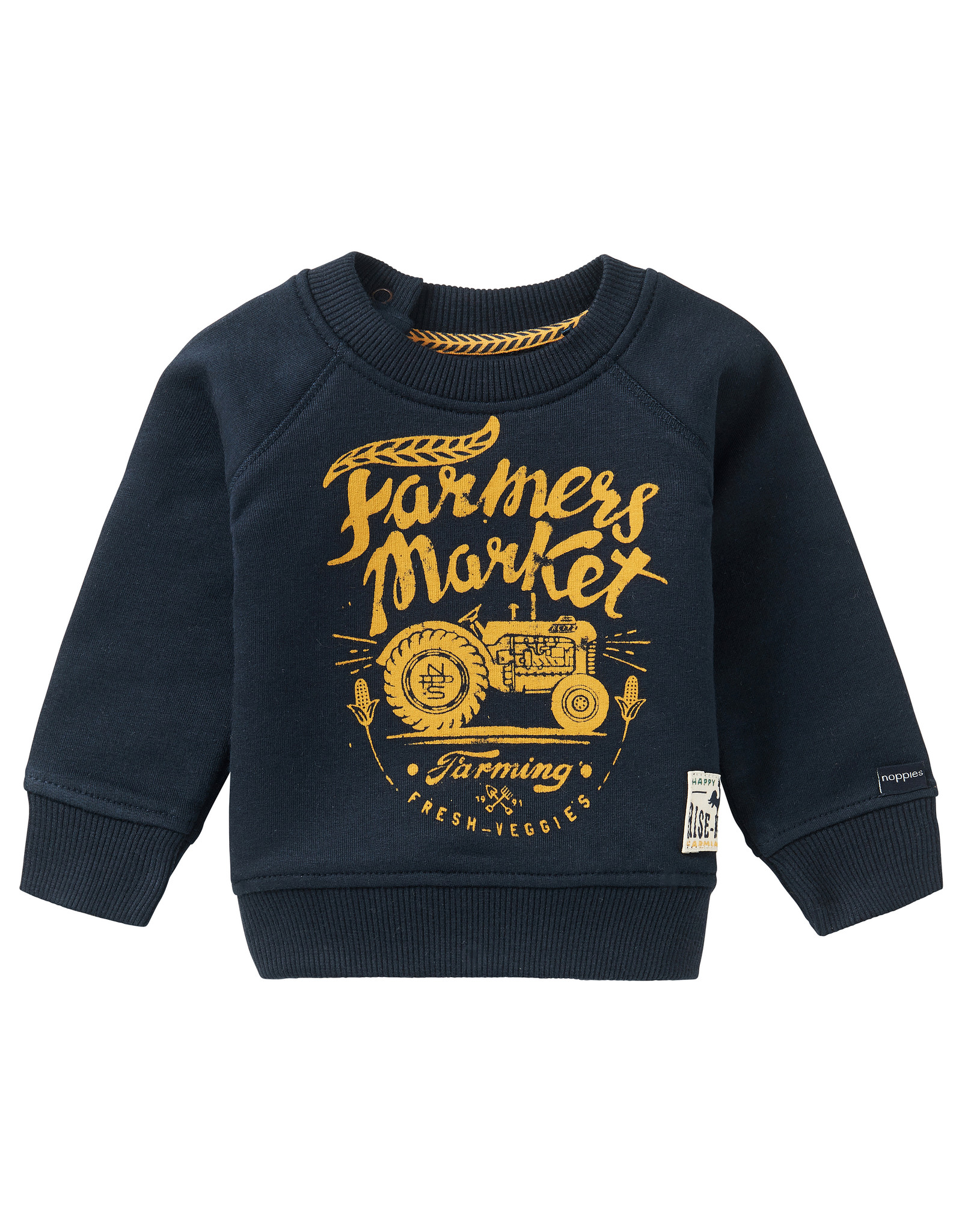 Noppies B Sweater LS Kei Road, Dark Sapphire