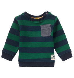 Noppies B Sweater LS Oviston Str, Dark Sapphire