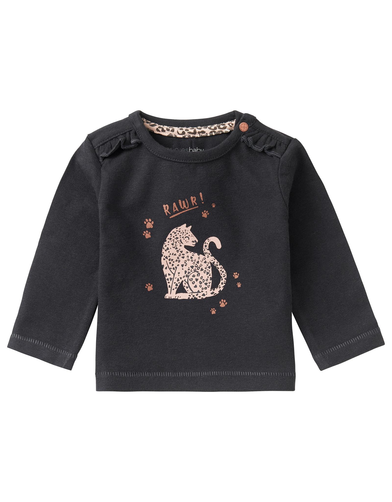 Noppies G Regular T-Shirt LS Roedtan, Phantom