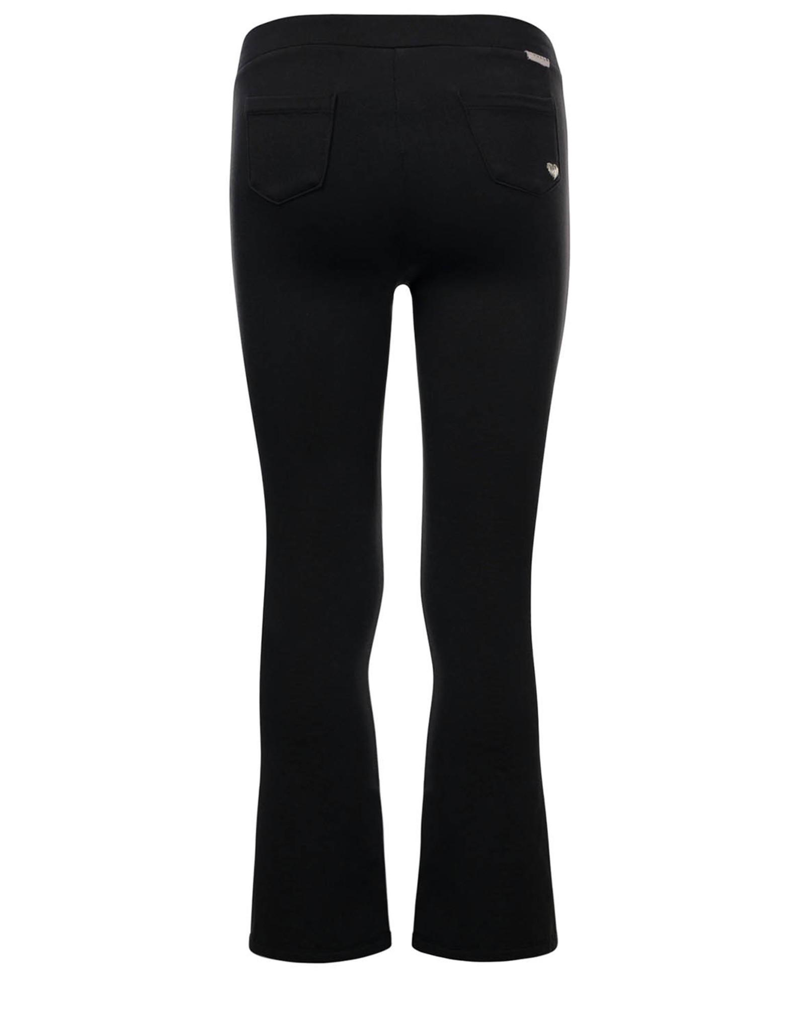 LOOXS Little Little sweat flair pants,  black