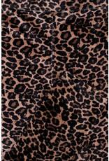 LOOXS Little Little velvet legging,  Army panther