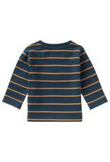 Noppies B T-Shirt LS Patensie Str, Midnight Navy