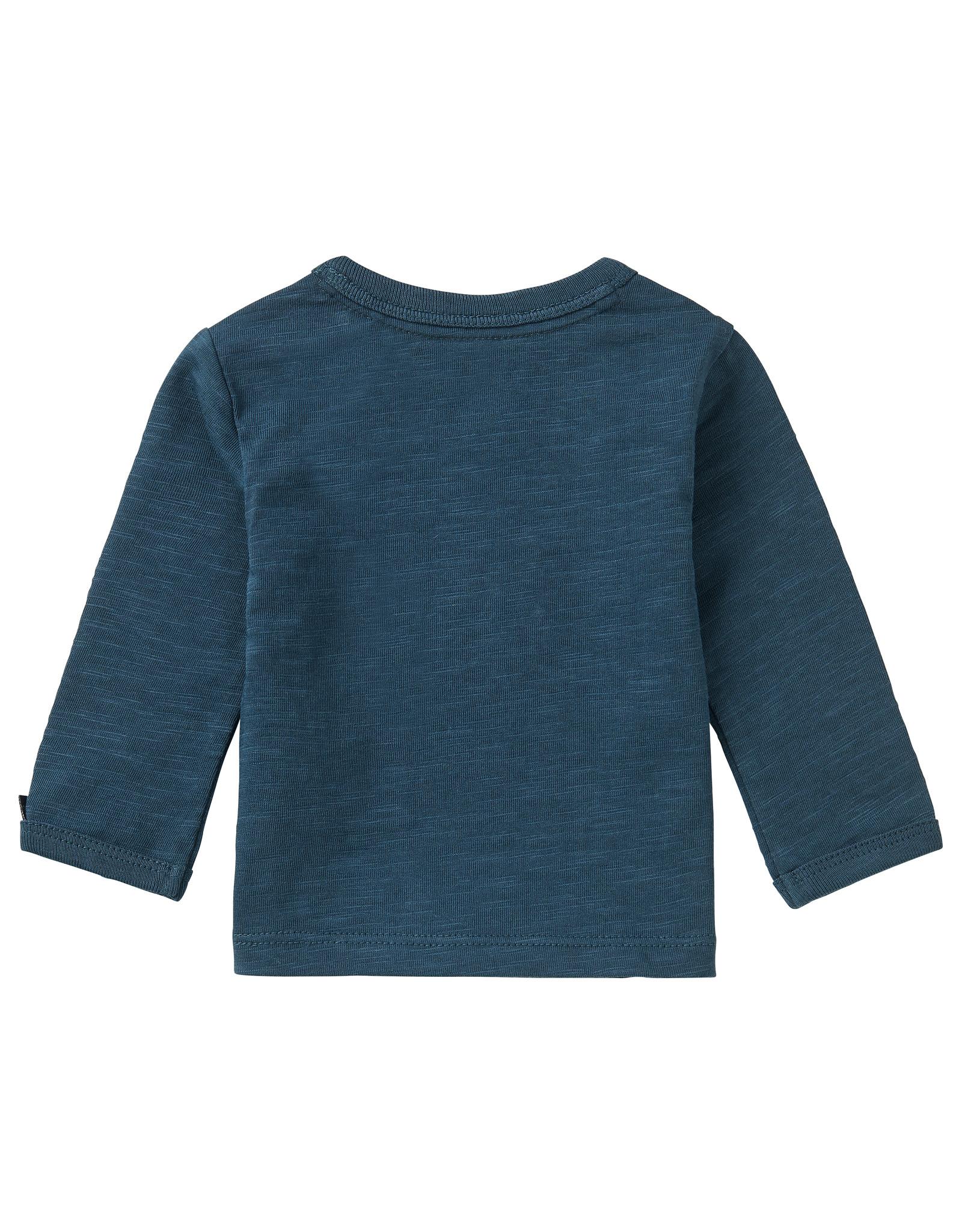 Noppies B T-Shirt LS Koffiebaai, Midnight Navy