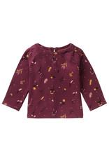 Noppies G Regular T-Shirt LS Kinross, Burgundy