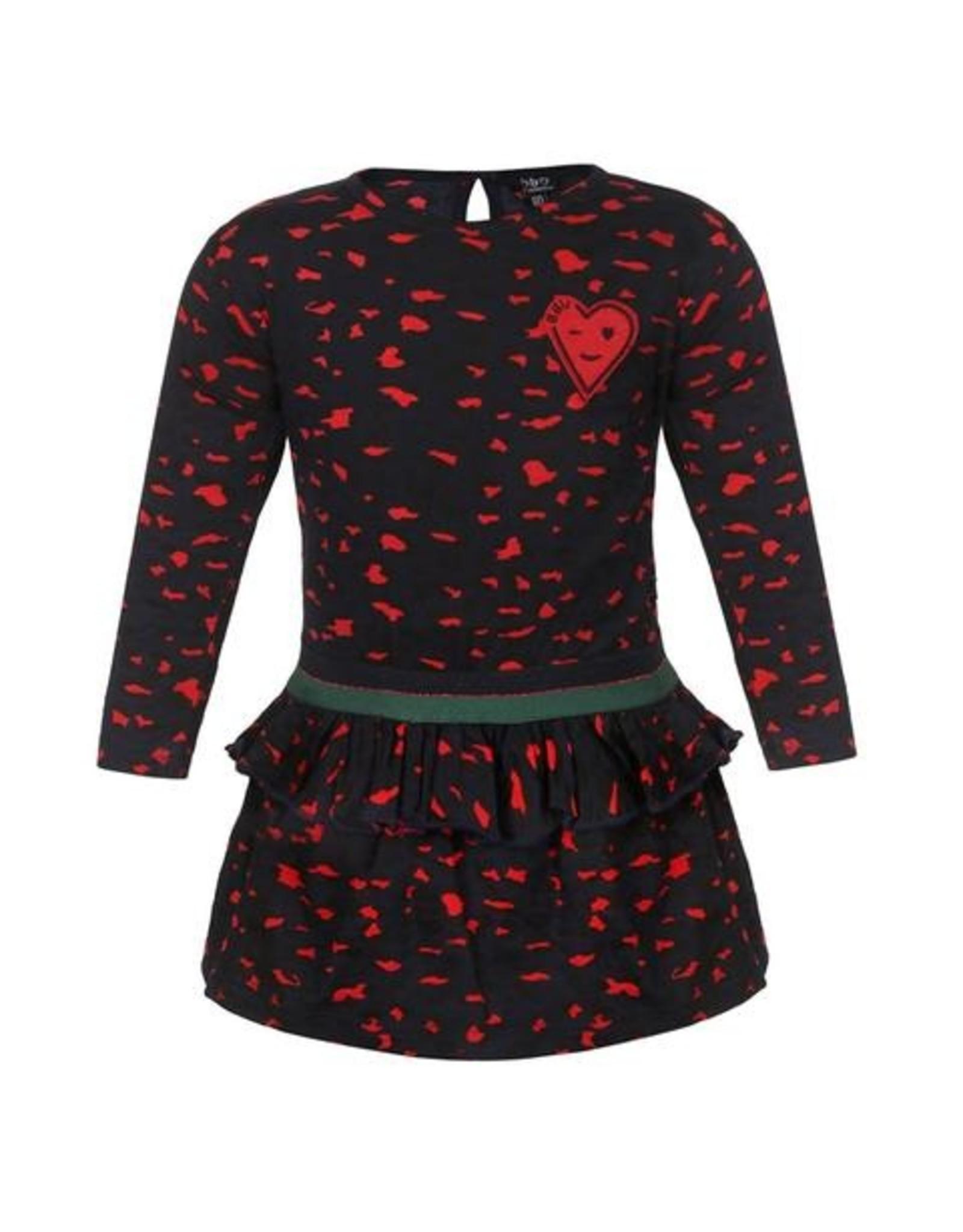 Beebielove Dress leopard, MUL