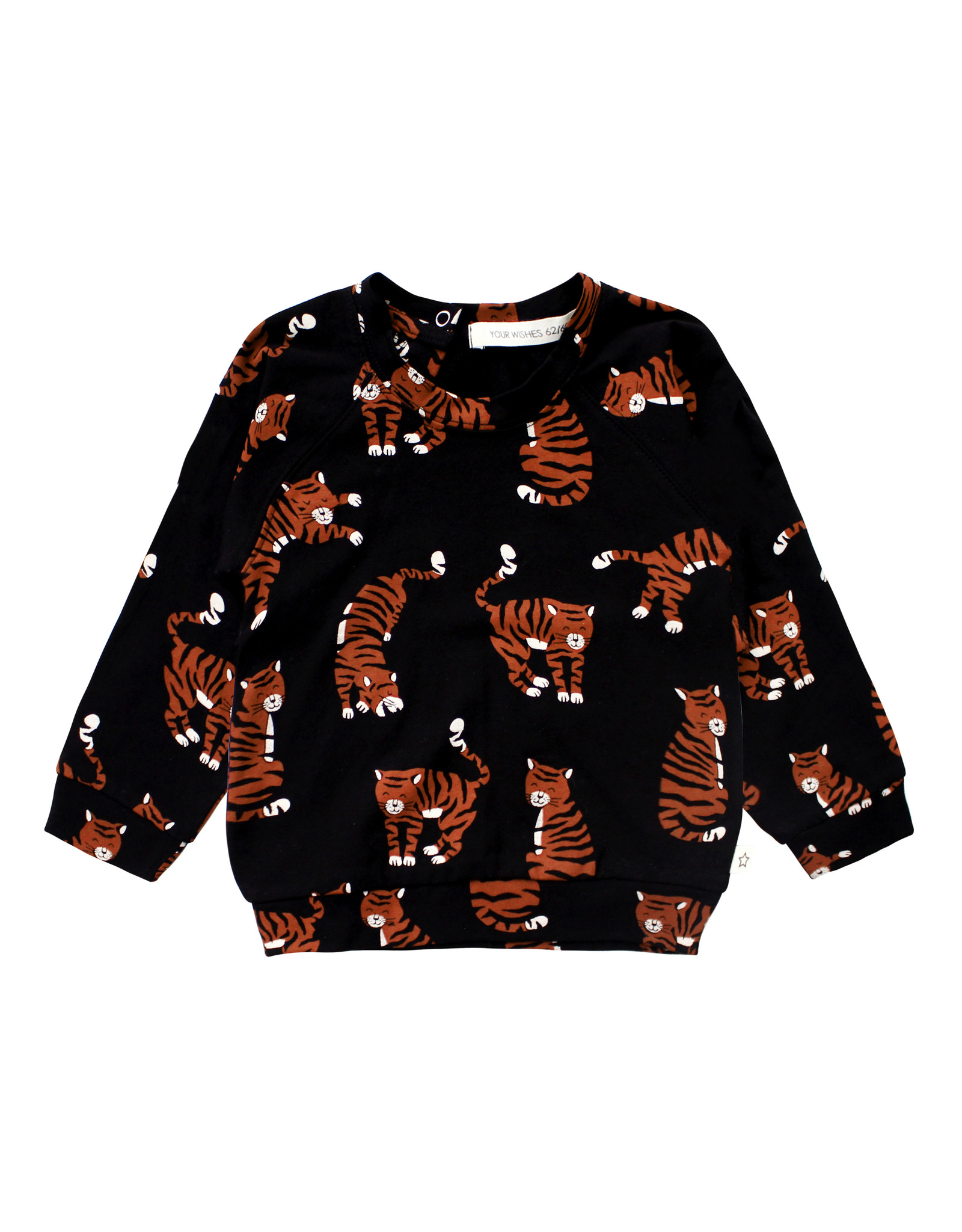 Your Wishes Tigers | Sweatshirt, Black