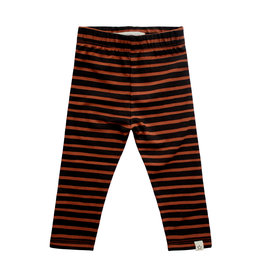 Your Wishes Stripes | Legging, Potters Clay
