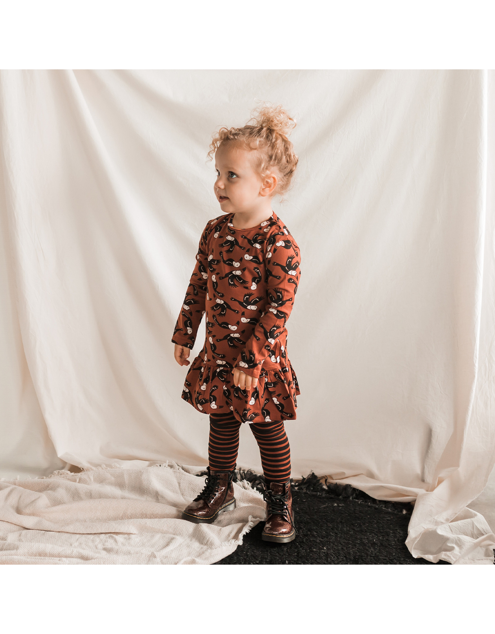 Your Wishes Toucans | Shift Dress, Potters Clay