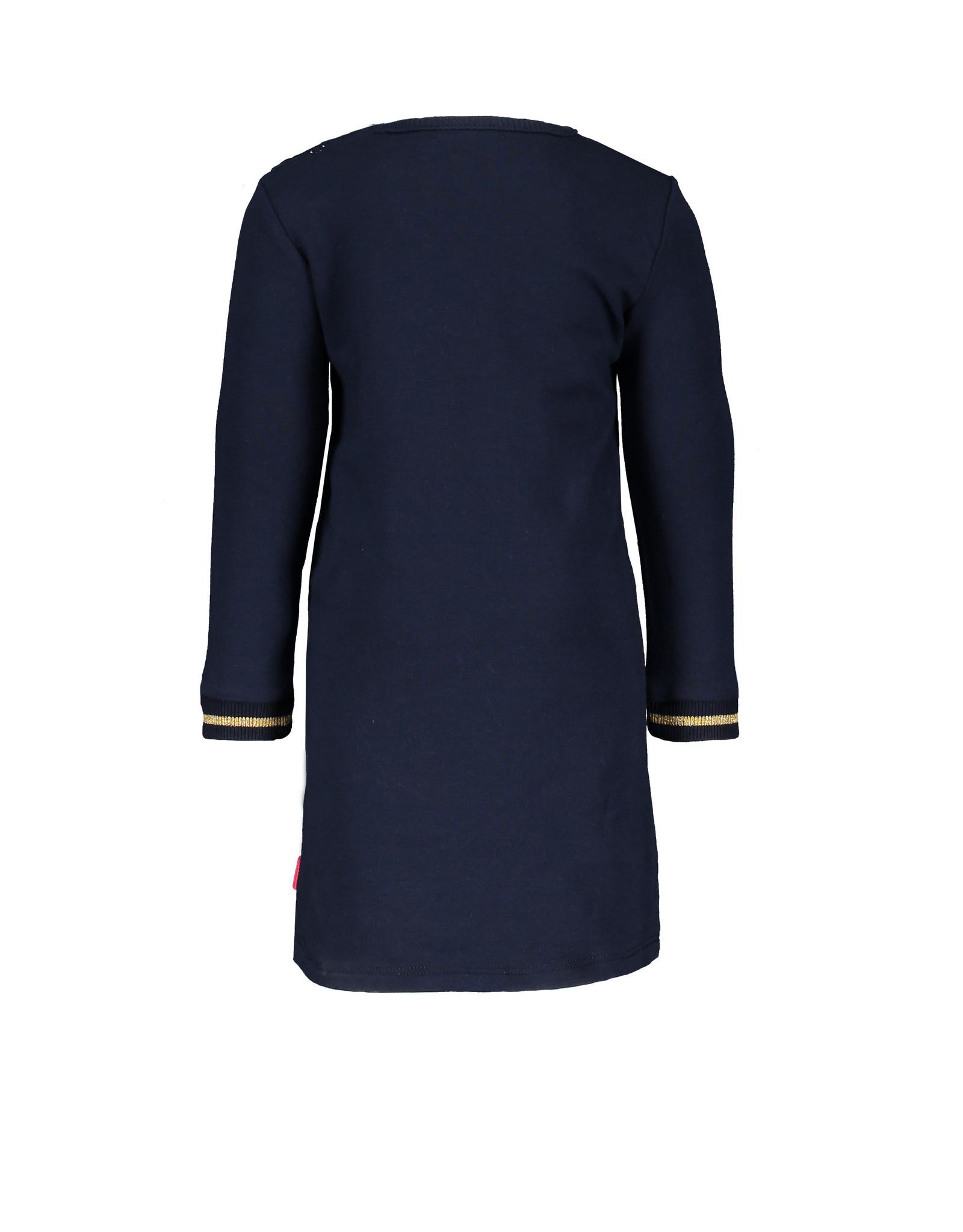 Bampidano Little Bampidano Baby Girls sweat dress Birgit SWEET, navy