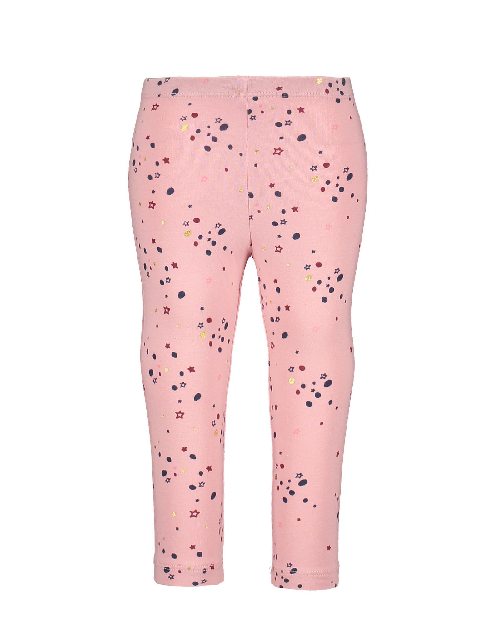 Bampidano Little Bampidano Baby Girls legging Bindi plain/allover print SWEET, light pink AO