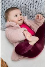 Bampidano Little Bampidano Baby Girls teddy cardigan Britt SWEET, light pink