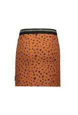 Bampidano Bampidano Junior Girls sweat skirt Coosje check/allover print with rib waist MON CHERI, mocha aop