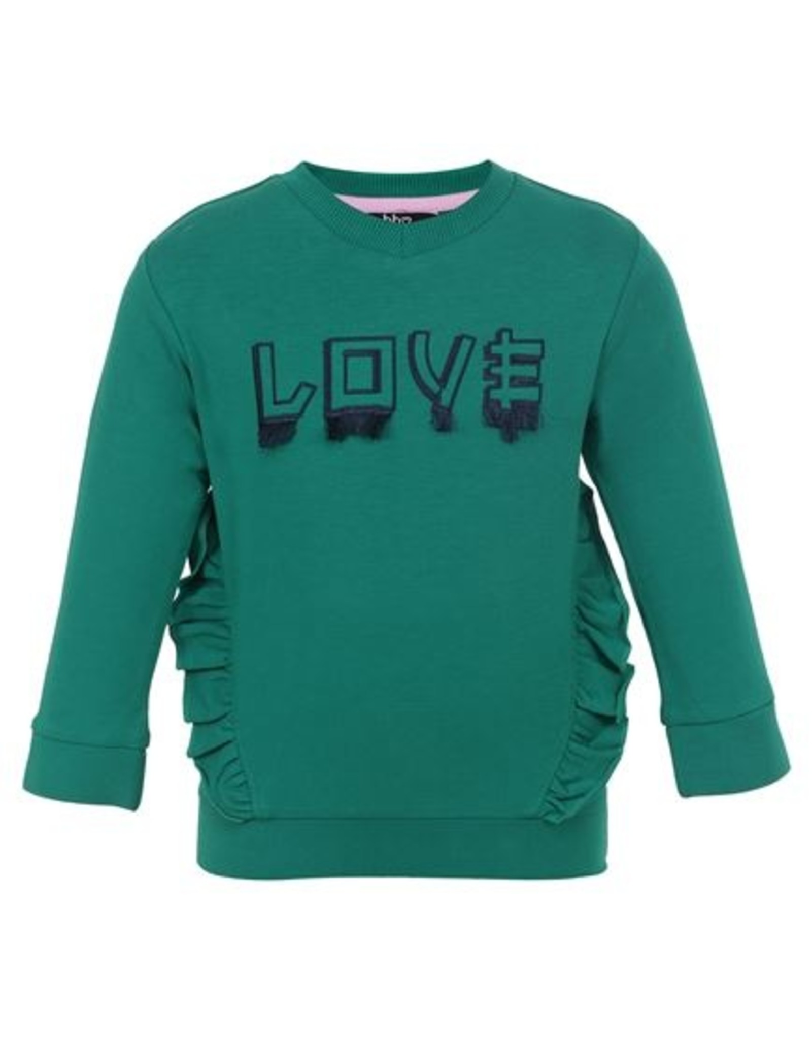 Beebielove Sweater Ruffle, GRN