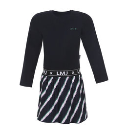 Little Miss Juliette Dress slanted stripe