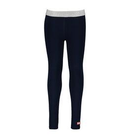B-Nosy Girls plain legging, space blue