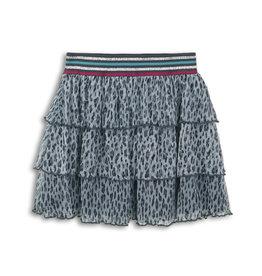 Dutch Jeans Skirt, Grey