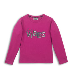 Dutch Jeans T-shirt ls, Dusty pink