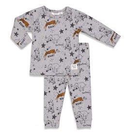 Feetje Roar Riley - Premium Sleepwear by FEETJE,  Grijs melange