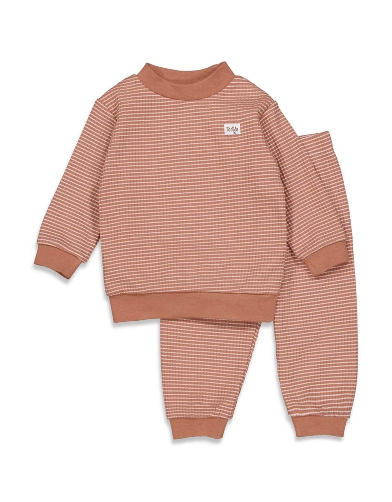 Feetje Pyjama wafel,  Hazelnoot Autumn Special