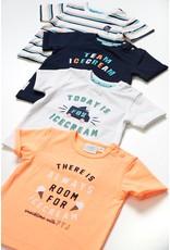 Feetje T-shirt Always - Team Icecream. Neon Oranje