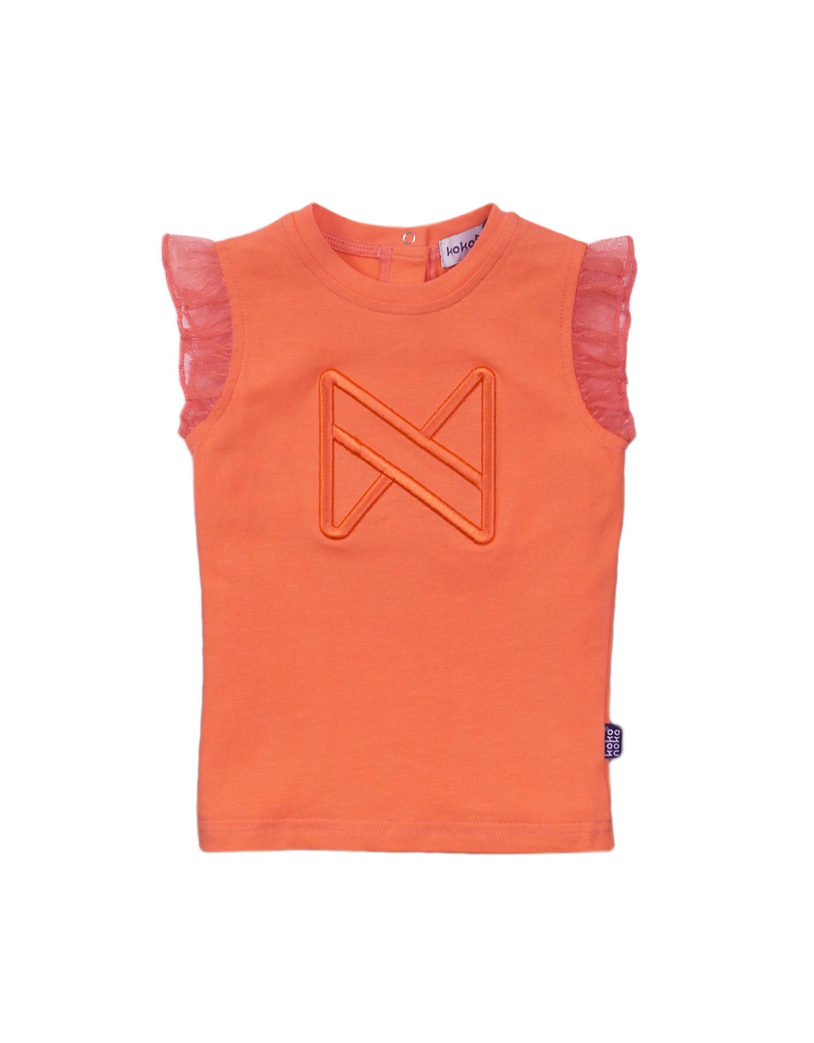 Koko Noko T-shirt ss, Orange, SS21