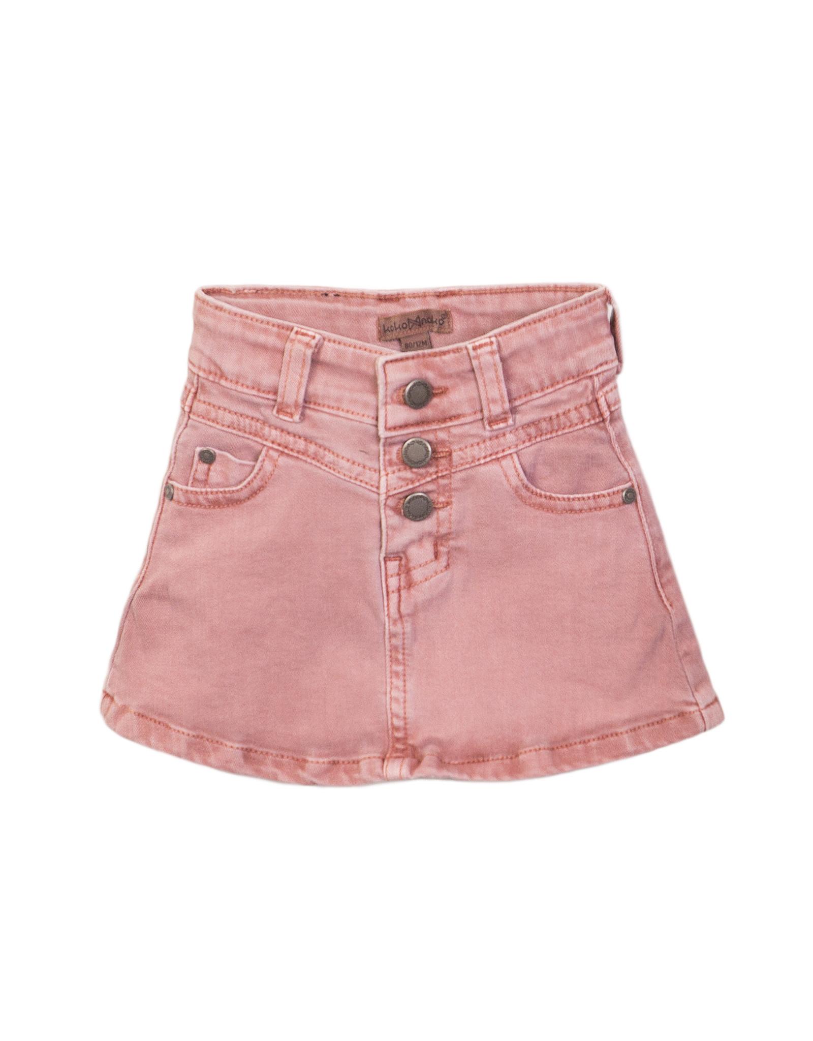 Koko Noko Jeans skirt, Pink, SS21