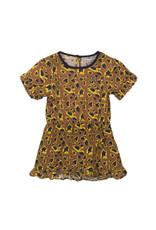 Koko Noko Dress ss, Camel + aop, SS21