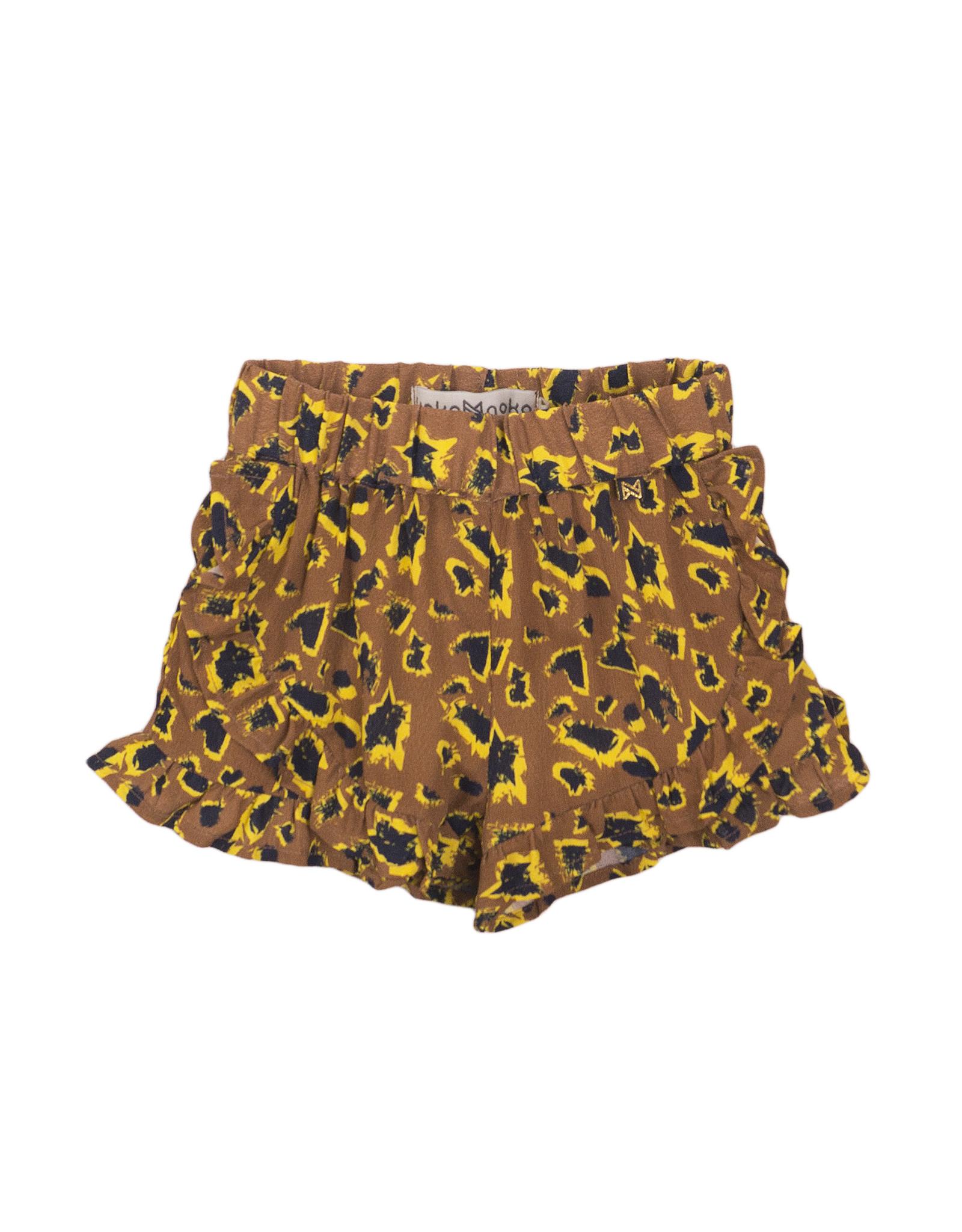 Koko Noko Shorts, Camel + aop, SS21