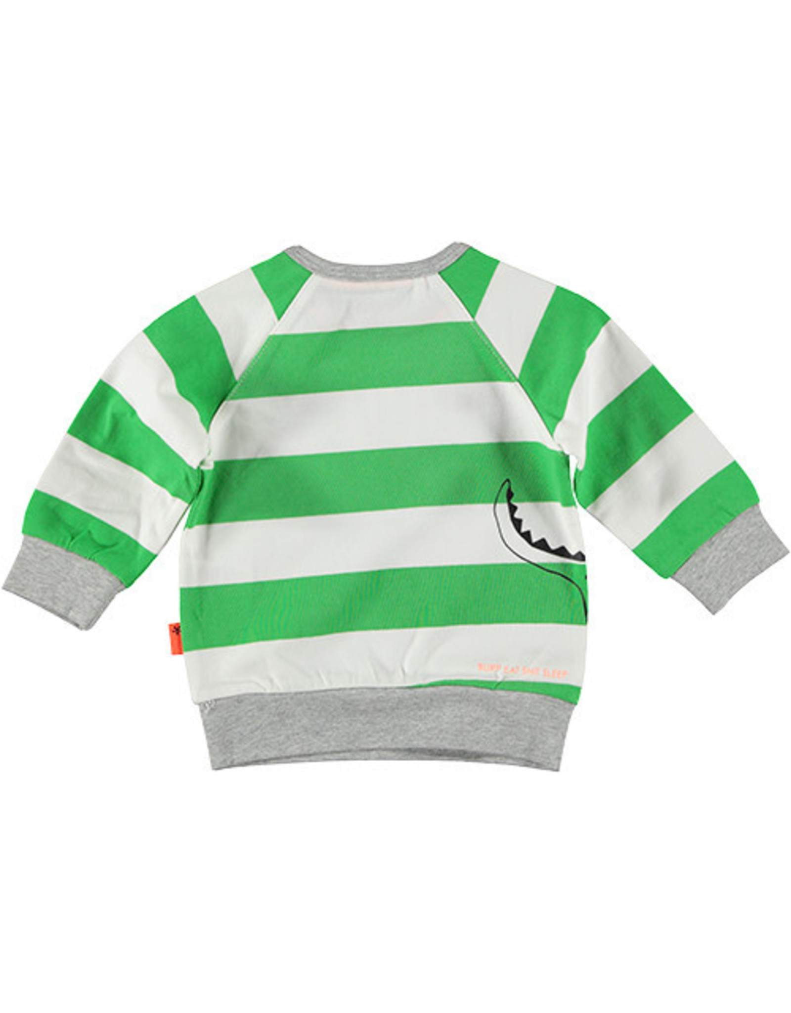 B.E.S.S. Sweater Little Messmaker, White
