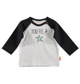 B.E.S.S. Shirt l.sl. You're a Star, White