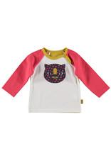 B.E.S.S. Shirt l.sl. Tiger, White